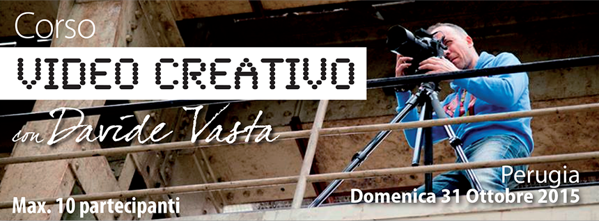 Corso Video Creativo time-lapse hyper-lapse slow-motion time-remap motion-tracking green-screen filmati creativi